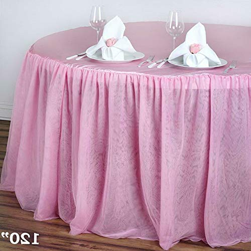 Mikash Round 120 Satin Fitted Tablecloths Wedding Linens Party Decorations Wholesale | Model WDDNGDCRTN - 8065 | 1 pc