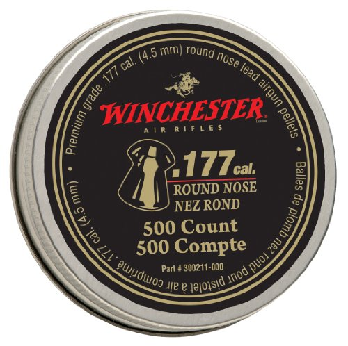 *Winchester 7419 .177 Cal. Round Nose Pellets - 500 Tin ()