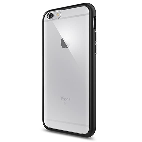 quality design 2f064 e6ae5 Spigen Ultra Hybrid Case Designed for iPhone 6S / iPhone 6 - Black SGP11600