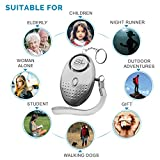 SLFORCE Personal Alarm Siren Song - 130dB Safesound Personal Alarms for Women Keychain with LED Light, Emergency Self Defense for Kids & Elderly. Security Sound Whistle Safety Siren