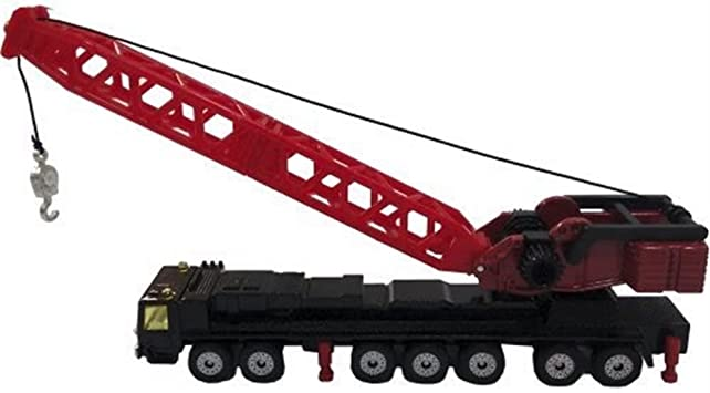 BALLOONSHOP 1:87 Die Cast Metal Mobile Crane Truck Toy