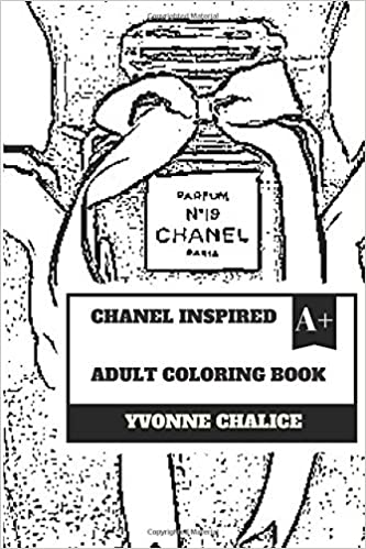 Buy Chanel Inspired Adult Coloring Book Fashion And Jewelry