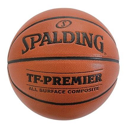 Amazon.com: Spalding Premier OFFICIAL Balón de baloncesto ...
