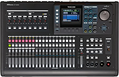 TASCAM DP-32SD 32-Track Digital - Cd Burner And Price
