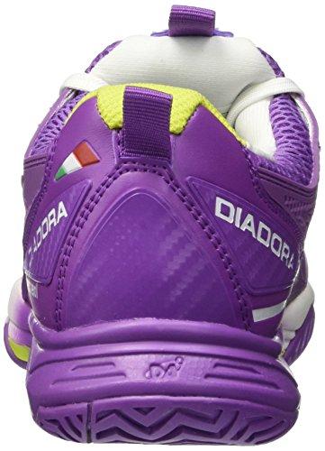 Diadora S.Pro Evo Ii W Ag, Zapatillas de Tenis para Mujer Multicolore (C5275 Viola Chicco/Bianco)