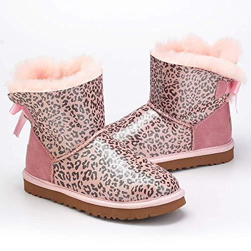 d'hiver 5 pour hiver automne bottes taille 3 Zhrui 41eu couleur femme SqnvFxvHf
