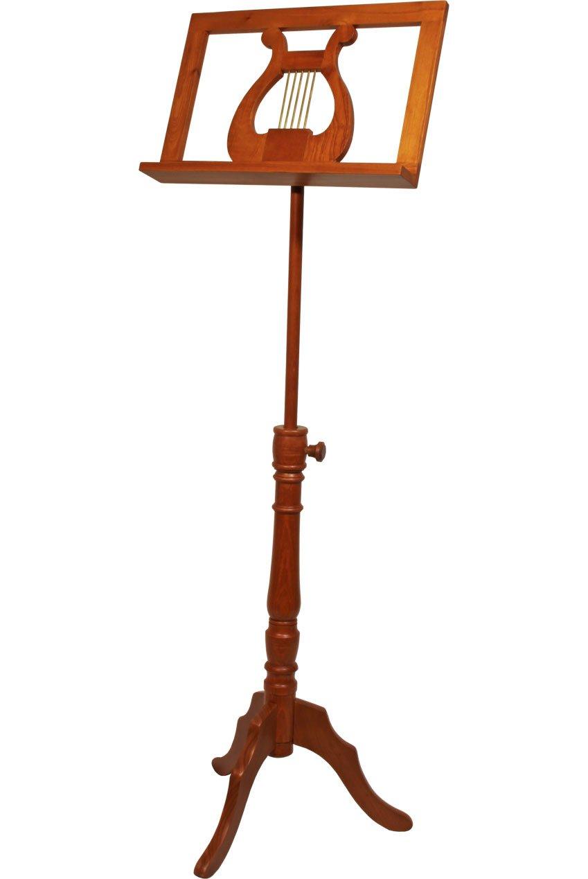 EMS Regency Single Tray Music Stand - Red Cedar