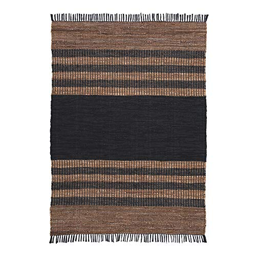 Ashley Furniture Signature Design - Zoran Medium Rug - Black/Brown
