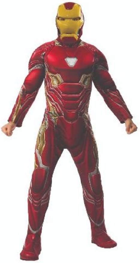Marvel Disfraz de Iron Man para hombre Talla M adulto Infinity Wars Rubies 820996-STD