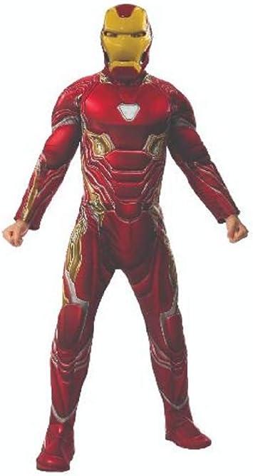 Marvel - Disfraz de Iron Man para hombre (Infinity Wars), Talla XL ...