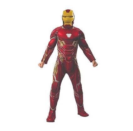 Marvel - Disfraz de Iron Man para hombre (Infinity Wars), Talla XL adulto (Rubies 820996-XL)
