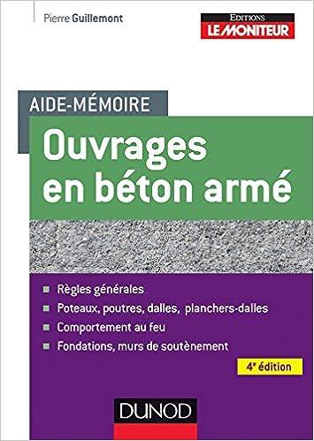 Livres gratuits Aide-mémoire des ouvrages en béton armé - 4ème édition pdf