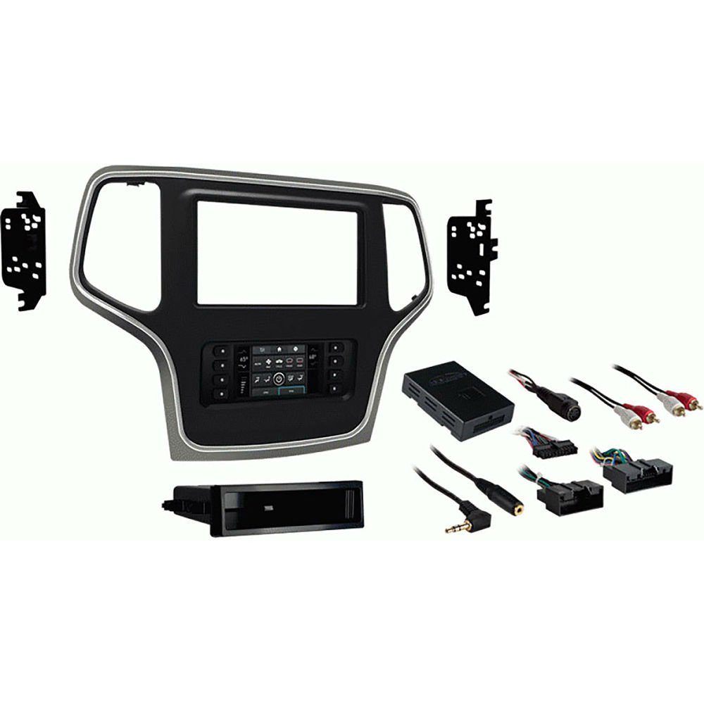 Metra 99-6536BZ Single/Double DIN Dash Kit for Select 2014-Up Jeep Grand Cherokee