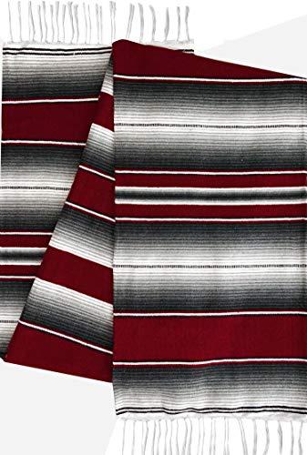 El Paso Designs Mexican Serape Blankets Bright & Colorful Sa