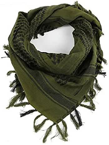 Tactical Desert Shemagh Arab Keffiyeh Neck Scarf Green