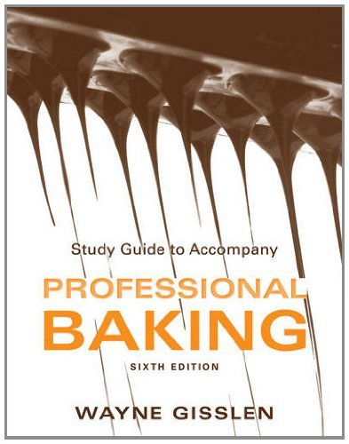 professional baking 6th edition - 6