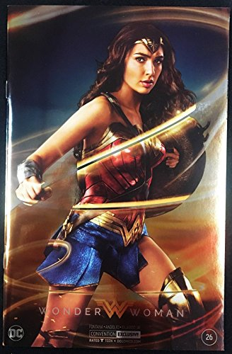 Wonder Woman (2016) 26 NM (9.4) SDCC convention exclusive Gal Gadot photo cover