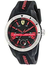 830253 'RED Rev T' Quartz Resin and Silicone Watch