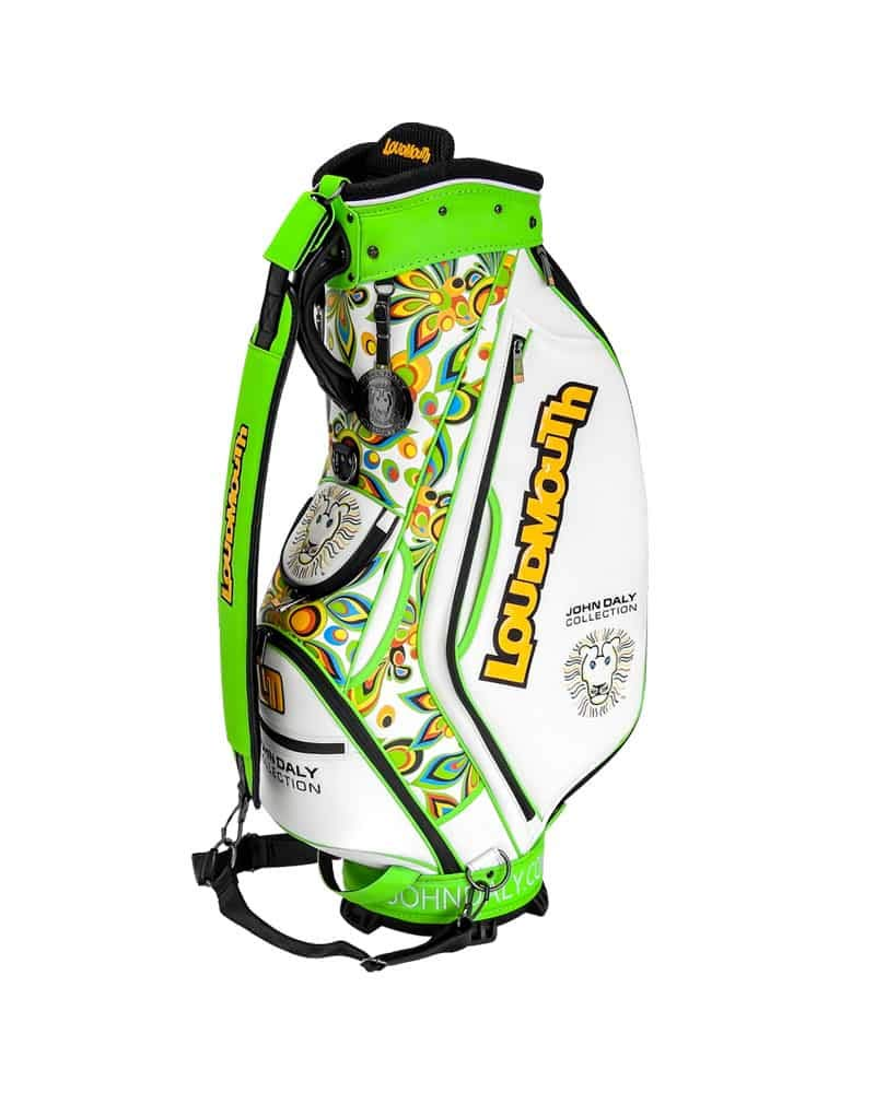 Loudmouth New John Daly Collection 9 Inch Staff Golf Bag