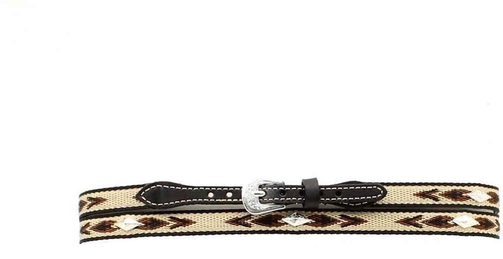 Apparel M /& F Western Mens Woven Aztec Concho Hat Band Black One Size