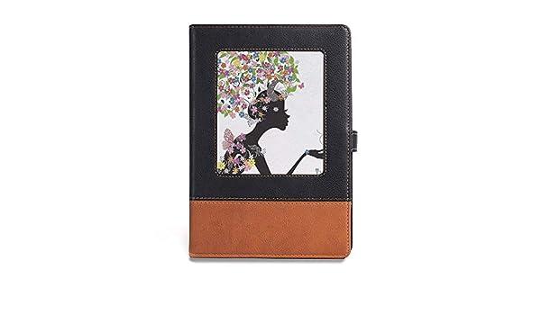 Cuaderno grueso, decoración de tatuajes, A5 (6.1 x 8.6 pulgadas ...