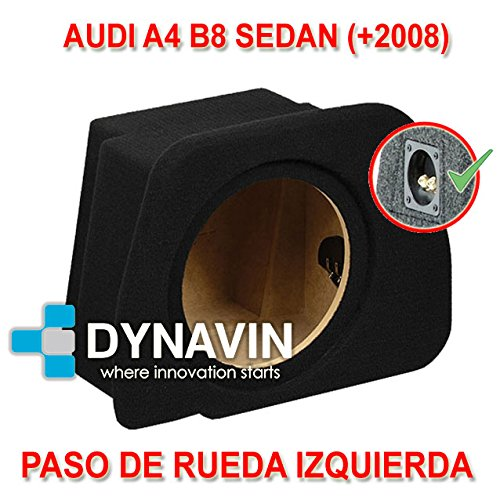 +2008 AUDI A4 B8 SEDAN CAJA ACUSTICA PARA SUBWOOFER ESPEC/ÍFICA PARA HUECO EN EL MALETERO