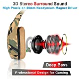 Stereo Gaming Headset Work for PC PS4 Xbox One