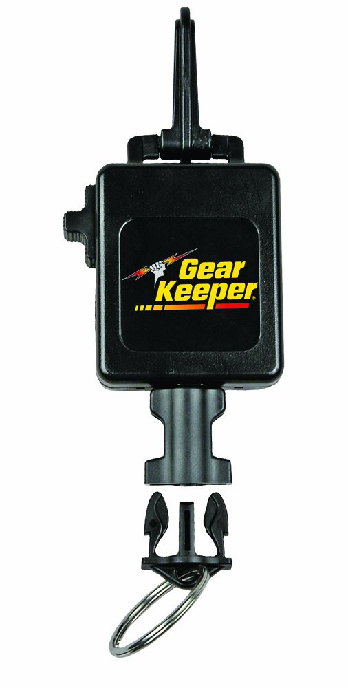 Hammerhead Industries Gear Keeper Deluxe Locking Scuba Console Retractor RT3-5913-Secure Console at Hip or Chest Area-Durable Snap Clip Mount with Q/C-II Split Ring and Lanyard Accessory-Made in USA by Hammerhead Industries
