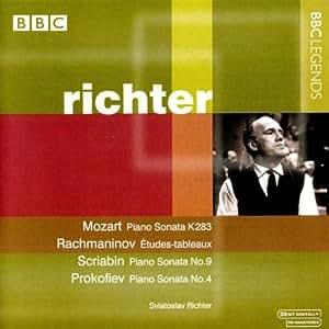 Mozart: Piano Sonata No. 5, K. 283 / Rachmaninov: Etudes-tableaux / Tchaikovsky: The Seasons / Scriabin: Piano Sonata No. 9 / Prokofiev: Piano Sonata No. 4