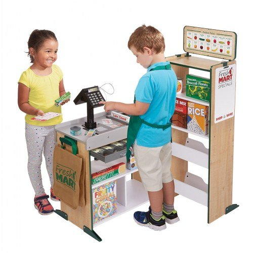 Melissa & Doug Fresh Mart Grocery Store & Bonus Accessories ()