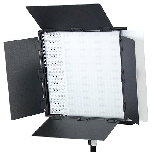 fancierstudio 600 led light panel with v mount dimmer switch video light kit litepanel by. Black Bedroom Furniture Sets. Home Design Ideas