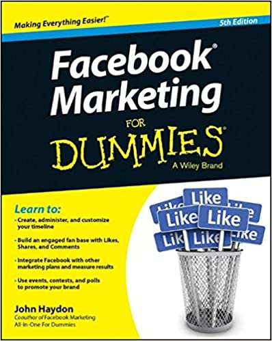 Book Facebook Marketing for Dummies, 5th Edition