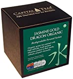 Capital Teas Organic Tea Sachets, Jasmine Gold Dragon, 20 Count Review