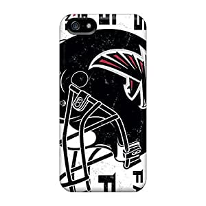 Iphone 5/5s Case, Premium Protective Case With Awesome Look - Atlanta Falcons