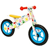 Boppi Wooden Balance Training Bike for Ages 3 - 5 Years Hand Print