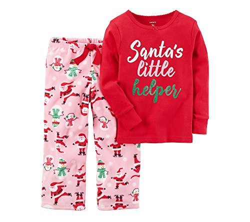 Santa's Helper Fleece Pajamas