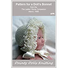 Pattern for a Doll's Bonnet