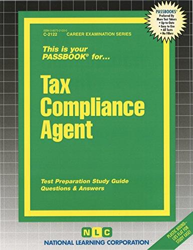 Tax Compliance Agent Passbooks   Career Examination Ser