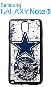 Dallas Cowboys Samsung Galaxy Note 3 Case Hard Silicone Case by mcsharks