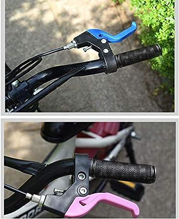 FUMIFY 2 PCS Children Bicycle Brake Lever Handlebar 1 Pair Universal Full Aluminum Alloy Brake Handle Mountain Road Bike Brake Lever 2.2cm Diameter