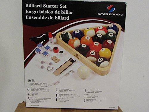 Billiard Starter complete pool balls Set (Sportcraft Billiard Balls)