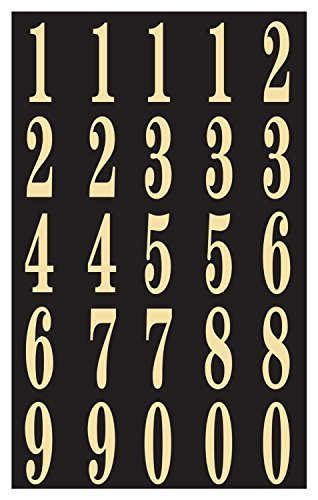 Numbers Mailbox (Hy-Ko MM-3N Self-Stick Numbers, 2
