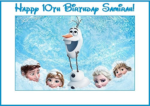 (12 Disney Frozen Stickers, Party Supplies, Decorations, Bag Labels, Treat bag labels, Olaf, Anna, Elsa, Kristoff, Birthday Decorations)
