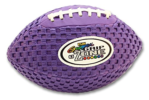 Saturnian I Fun Gripper-Grip Zone 8.5 Solid Color Football