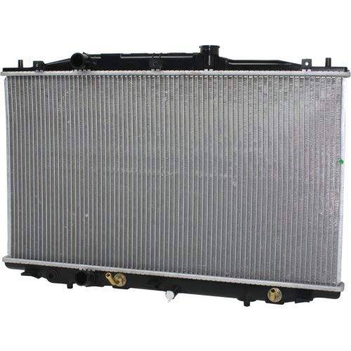 Radiator Compatible with HONDA ACCORD 2003-2007 4 Cyl Automatic Transmission Denso Brand