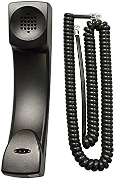 Used OEM Polycom HD Voice Handset for Polycom VVX IP Phone Black Handset Only