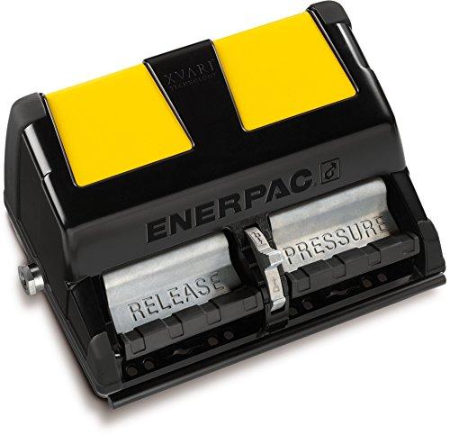 Enerpac XA-12 Single-Acting Air-Driven Foot Pump with 2 L...