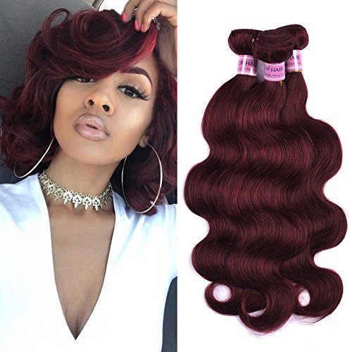 Sleek Colorful Hair Mink Brazilian Hair Weave Bundles10 To26 Inches Honey Blonde 613# Color Body Wave Bunles Remy Hair Extension Rich And Magnificent Hair Weaves