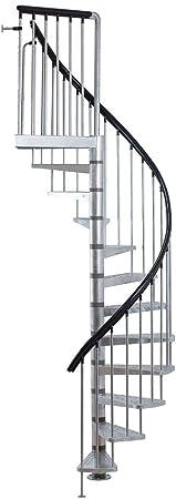 Dolle Toronto Kit de escalera de caracol – 61 cm de diámetro, altura regulable...: Amazon.es: Bricolaje y herramientas
