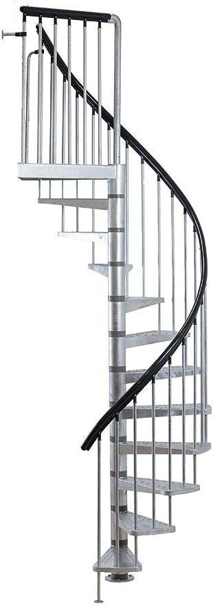 Dolle Toronto Kit de escalera de caracol – 61 cm de diámetro ...